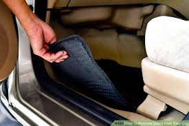 How To Clean Car Upholstery With Vinegar The Best Way To Remove Odors From Your Car Wikihow