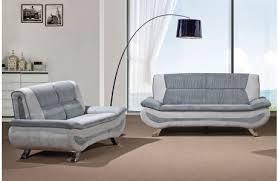 Hayden Modern Sofa Gray Fabric - Fabric modern sofa