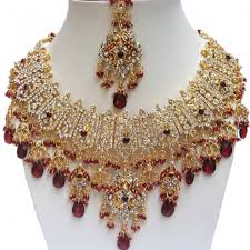 crystal design necklace images Finekraft crystal stone beautiful design handmade party wear jpg