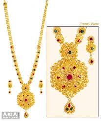 stone necklace sets images 22k gold stones necklace set ajns59228 exclusively designed jpg