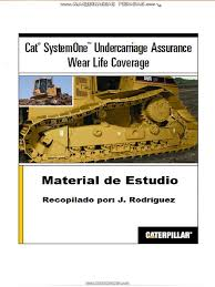 manual estudio tren rodaje system one caterpillar pdf axle