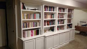 painting built in bookcases custom painted built in bookcase with adjustable shelves and