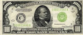 fake dollar bill template