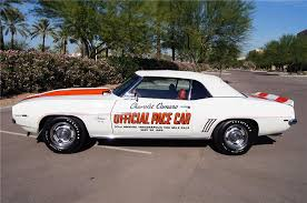 69 camaro pace car 1969 chevrolet camaro rs ss pace car convertible 177263