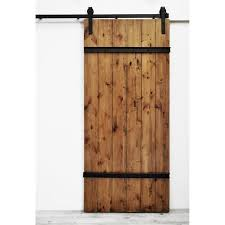 Knotty Alder Interior Door by Shop Dogberry Collections Drawbridge Stained Solid Core 1 Panel