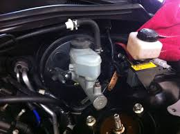 lexus es300 vsc and trac off light showing diy remove stock abs vsc master cylinder u003e install power brake
