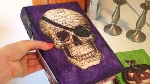youtube halloween crafts diy craft halloween altered books youtube