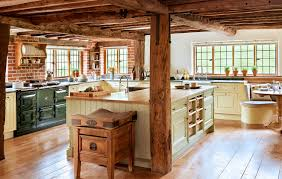 classic kitchen solid wood island pilaster smallbone u0026 co