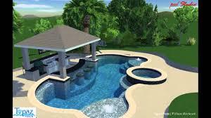 fresh backyard pools with swim up bar 49 for your with backyard