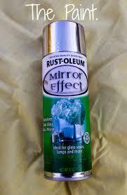 alaskalove12 diy mercury glass with rust oleum u0027s mirror effect