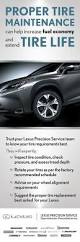 lexus service schedule service specials great deals only at lexus of barrie