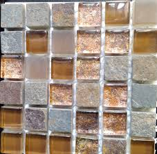 Rusty Brown Slate Mosaic Backsplash by Ct Foil Slate Amber Rust Flooring Finesse