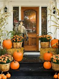pumpkin decoration images celebrate autumn with fall u0027s best porches and patios outdoors