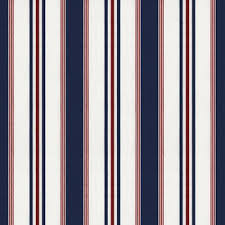 Blue And White Striped Upholstery Fabric Lcf20853f Highrock Stripe Red White Blue By Ralph Lauren