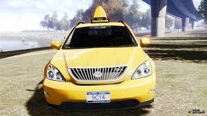lexus new york lexus rx400 new york taxi for gta 4