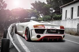 Audi R8 Spyder - audi r8 v10 spyder regula tuning bodykit rides magazine