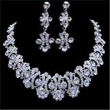 swarovski choker necklace images Swarovski crystal choker necklace and earring necklace jpg