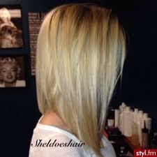 slightly angled long bob 27 beautiful long bob hairstyles shoulder length hair cuts