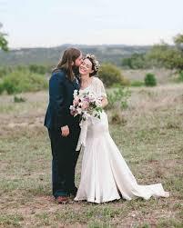 a rustic romantic outdoor wedding in texas martha stewart weddings