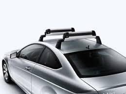mercedes c class roof bars genuine oem mercedes c class c204 coupe roof rack basic