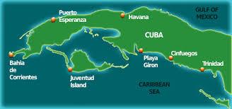 Cuba On A Map Western Cuba Map