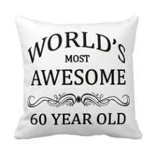 60 year birthday is there a special or woman turning 60 years if they are