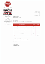 best graphic design invoice joy studio gallery template indesign