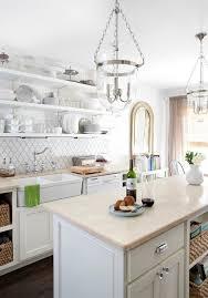 gorgeous kitchen design with pottery barn hundi lantern pendants