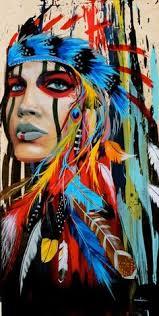 native american face paint customs colors designs native