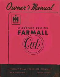 the farmall cub manuals a1tractormanuals