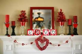 Valentines Day Decor Valentines Day Mantel Decor Mantel Holiday Decoration Decor Ideas