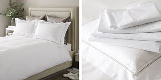 bed linen linen silk cotton the white company