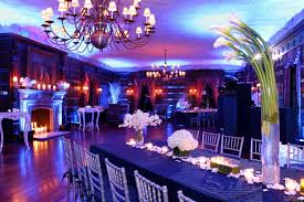 royal blue wedding reception decorations party themes inspiration