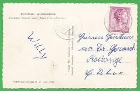 Sié E Croix Betzdorf Luxemburg 1962 Croix Luxembourgeoise Fondation E