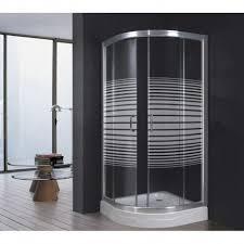box doccia cristallo 80x80 box doccia bagno in cristallo trasparente e serigrafato