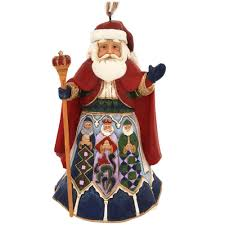 jim shore spanish santa ornament bronner u0027s christmas wonderland