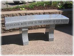 cremation benches granite memorial benches bench monuments by lowell granite co