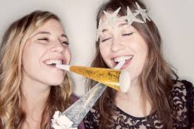 new years party blowers beyond the big day a sparkly new year s design sponge