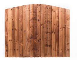 feather edge fence panel arched worcester timber products