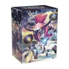 pokémon tcg hoopa unbound deck box pokémon tcg trading card game