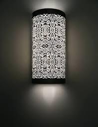 Moroccan Wall Sconce Moroccan Wall Sconce Metal Henna Iron Hrcouncil Info