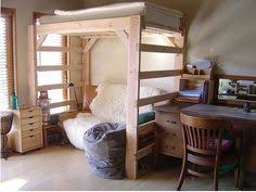 Build A Loft Bed With Storage by I Love This The Mother In Law Is Moving In With Us For A While