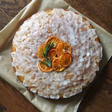 clementine cuisine olive cake with clementine and rosemary thyme