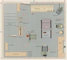 wood workshop layout images plans for accessible woodworking shop would be great for in the