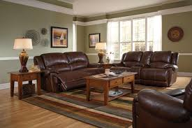 paint colors for living room with brown leather furniture home
