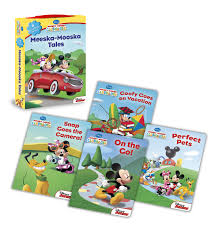 Mickey Mouse Clubhouse Bedroom Set Mickey Mouse Clubhouse Meeska Mooska Tales Board Book Boxed Set
