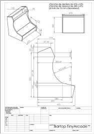 bartop arcade cabinet plans diy woodworking plans and projects