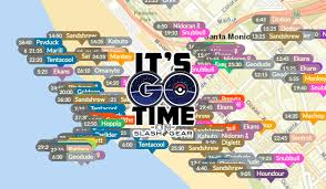 Map Of Pokemon World by New Pokemon Go Maps Trackers That Work Slashgear