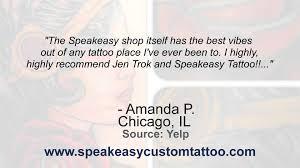 speakeasy custom tattoo reviews chicago il tattoo parlors