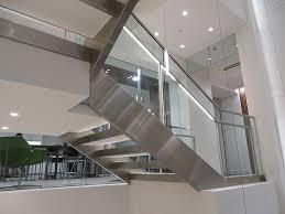 Illuminated Handrail Staircase Bozzuto Group